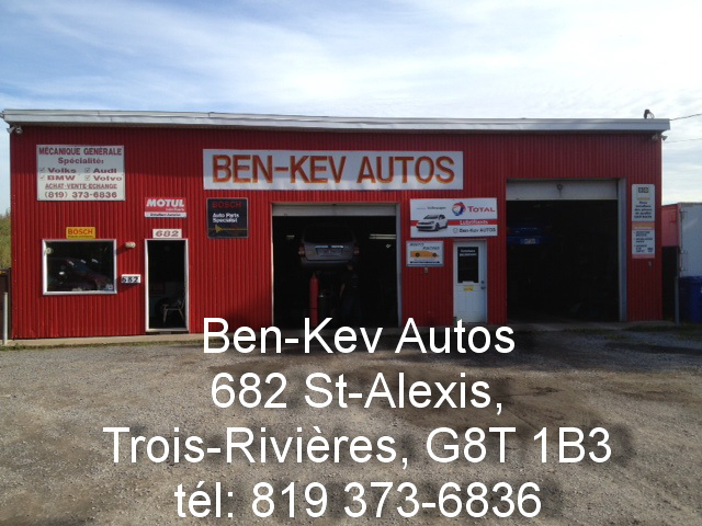 Ben kev autos for Garage ben autos